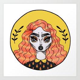 Candice Corn Art Print