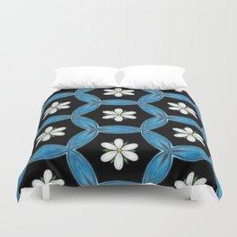 hippie flower pattern Duvet Cover