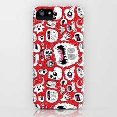 Another Monster Pattern Slim Case iPhone (5, 5s)