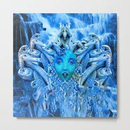 Medusa Metamorphosis Metal Print