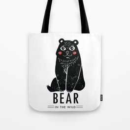 Bear In The Wild Tote Bag