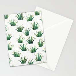 Field of Aloe Stationery Cards