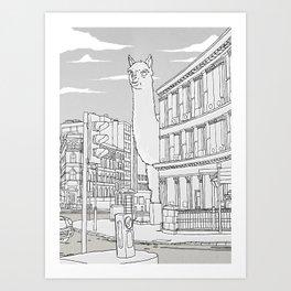 Llamondon Art Print