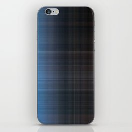 Blue Checked iPhone Skin