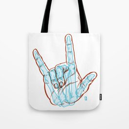 I Love You To Death Tote Bag