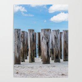 Pillar Beach Poster