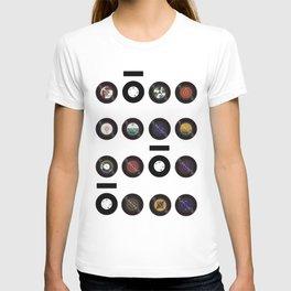 Domio Keyhole Vinyls T-shirt