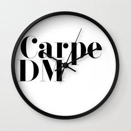 Carpe DM Wall Clock
