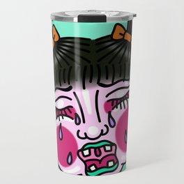 Cry Baby Girl Travel Mug