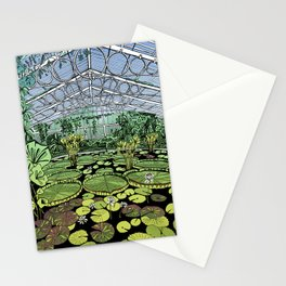 Kew Gardens Water Lily House  Stationery Cards