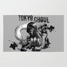 Kaneki ken blackwhite - Tokyo Ghoul Rug