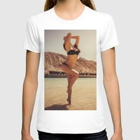 oasis T-shirts featuring Desert Oasis by MKGRAPHY
