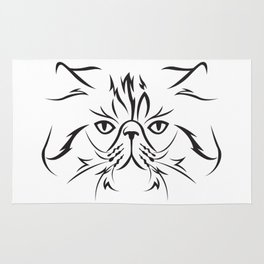 Persian cat Rug