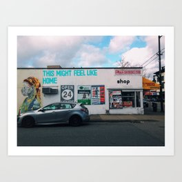 This Might Feel Like Home Art Print