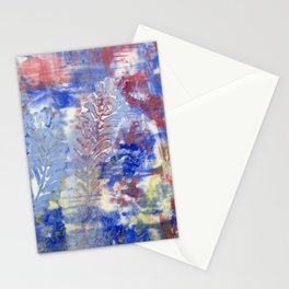 Feather Textures Stationery Cards