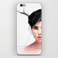 jenny liz rome iPhone & iPod Skins featuring Liz by J U M P S I C K ▼▲