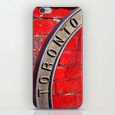 Toronto Bicycle Ring iPhone & iPod Skin