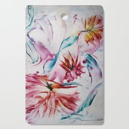 Asters Cutting Board