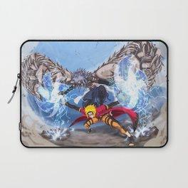 Sage Art : Spiraling Thunderstorm Shuriken Laptop Sleeve