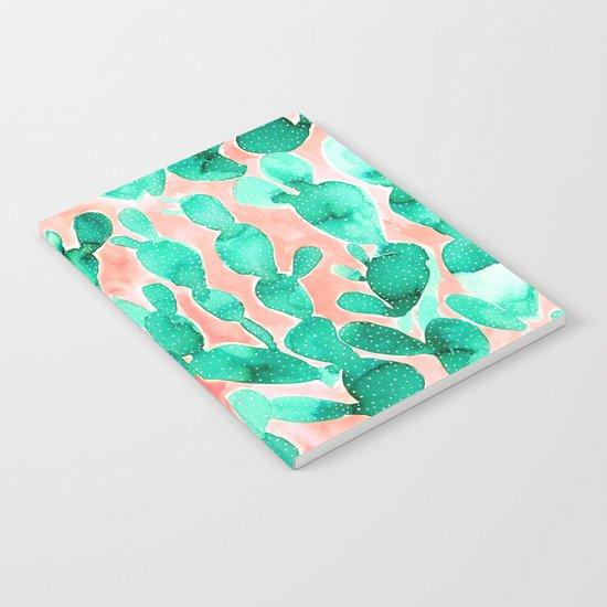 Paddle Cactus Blush Notebook