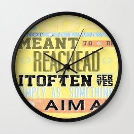 goal Wall Clock