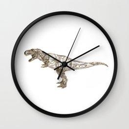 T-REX GOLD Wall Clock
