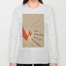 The Sixty-Five Years of Washington Long Sleeve T-shirt