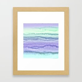 WITHIN THE TIDES - SPRING MERMAID Framed Art Print