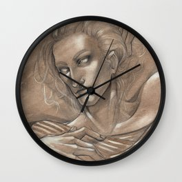 It's always about love Wall Clock