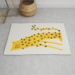 Speedy Cheetah Rug