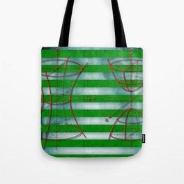 Figure 57 (Diagram Series) Tote Bag