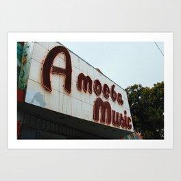 Amoeba Art Print