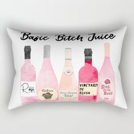 Basic Bitch Juice Rectangular Pillow