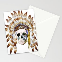 Skull 01 Stationery Cards