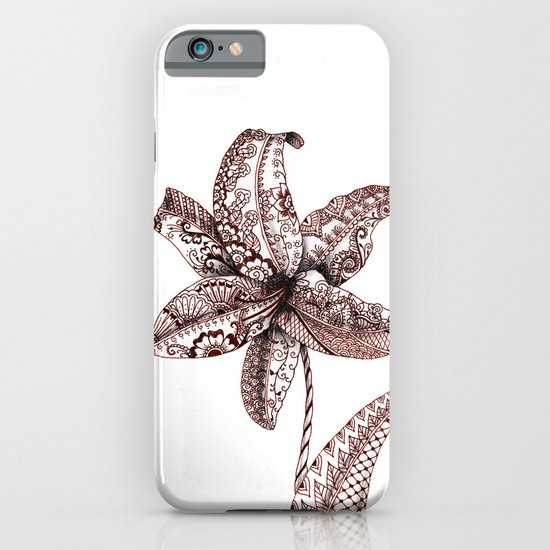Henna Lily iPhone & iPod Case
