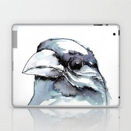 Crow Head Laptop & iPad Skin