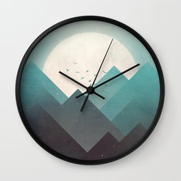 Ice Lands Wall Clock