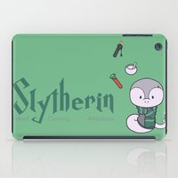 slytherin iPad Cases featuring Slytherin by Kiell R.
