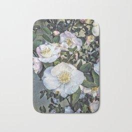 Camellias, Nara, Japan Bath Mat
