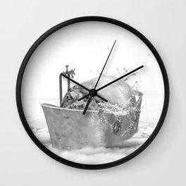 HIPO BATH Wall Clock