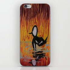Hooded Merganser iPhone & iPod Skin