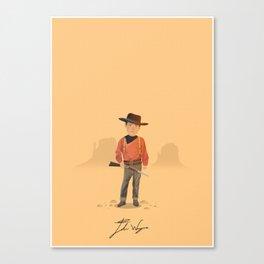 John Wayne - The Searchers Canvas Print