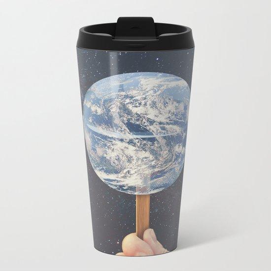 Lollipop Globe Metal Travel Mug