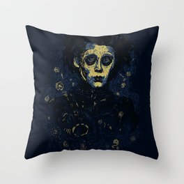 Scarry Night Throw Pillow