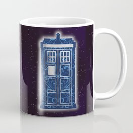Filigree TARDIS Coffee Mug