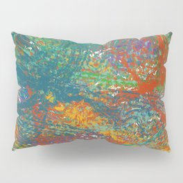 Colors Distorted Pillow Sham