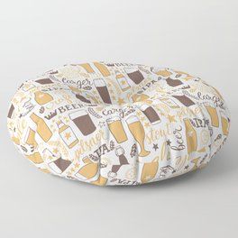 For beer lovers Floor Pillow