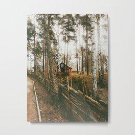 Scandi Landscape Metal Print