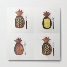 Pacific Pineapple  Metal Print