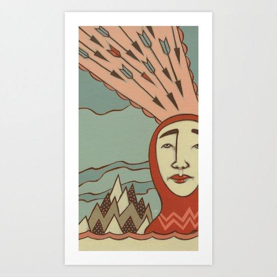 Arrows Art Print